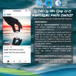 WWD2021: #Water2me Photo Contest